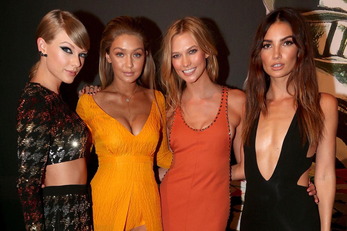 Taylor Swift, Karlie Kloss o Lily Aldridge figuran entre su influyente grupo de amigas.