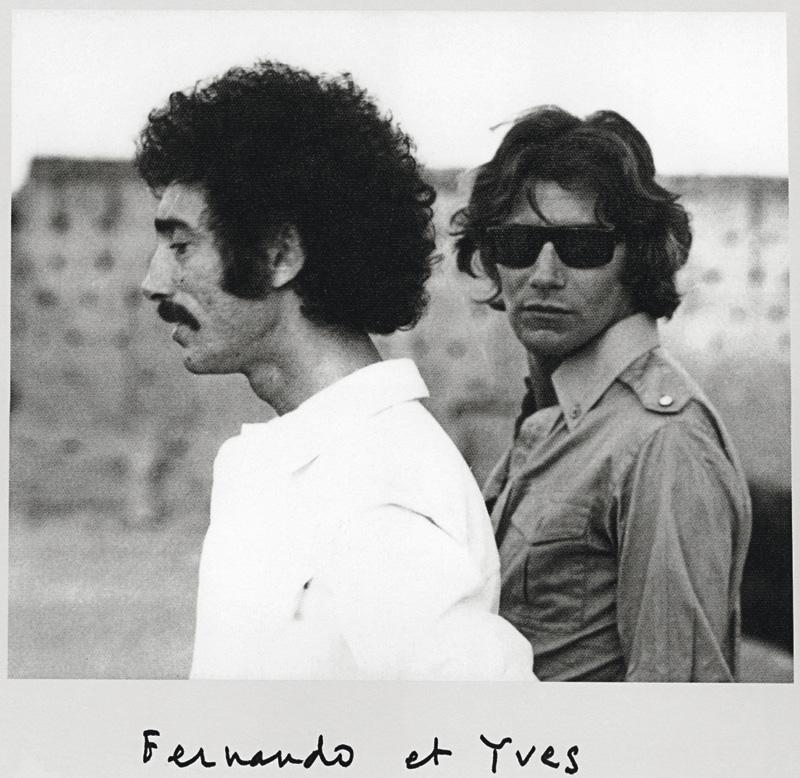 Fernando compró a Yves Saint Laurent su primera casa en Marraquech. Cortesía de Jano Herbosch.