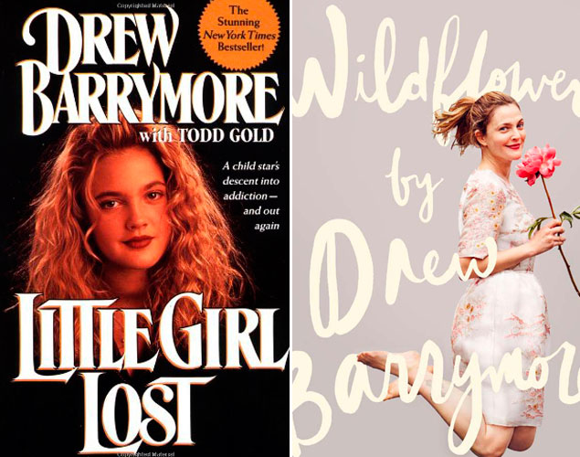Las portadas de 'Little Girl Lost' y 'Wildflower', las biografías de Barrymore