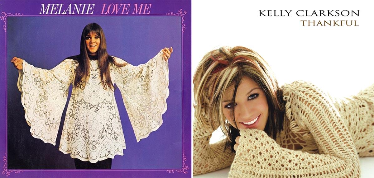 Melanie y Kelly Clarkson solo tuvieron una cosa en común: Sus mangas acampanadas.