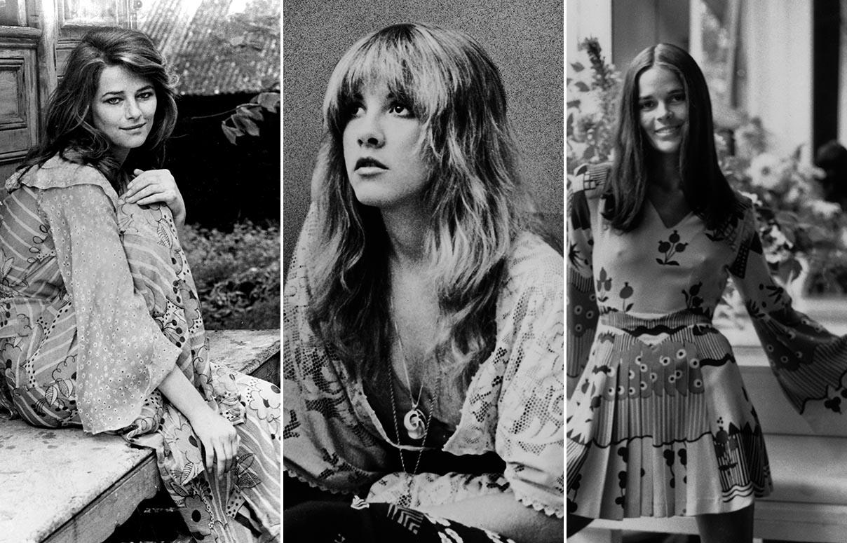 Charlotte Rampling, Stevie Nicks y Ali MacGraw Foto: Cordon Press / Everett