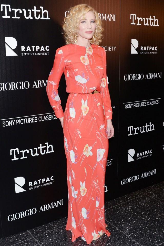 Un mes de looks perfectos, por Cate Blanchett