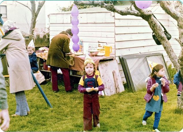 Dharma, celebrando su quinto cumpleaños. Flickr/ Stewart Butterfield