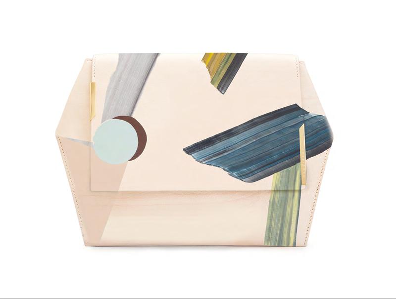 Bolso de Onesixone una marca de reciente creación que colabora con varios artistas, entre ellos Vicky Uslé.