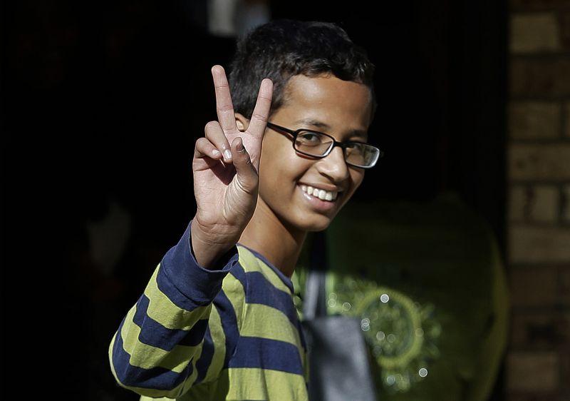 Ahmed Mohamed, al que Obama llevó a la Casa Blanca.