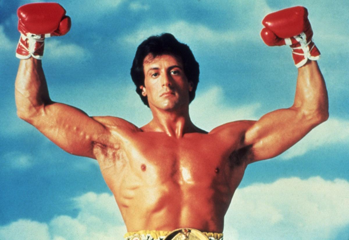 Sylvester Stallone en 'Rocky III' (1982)