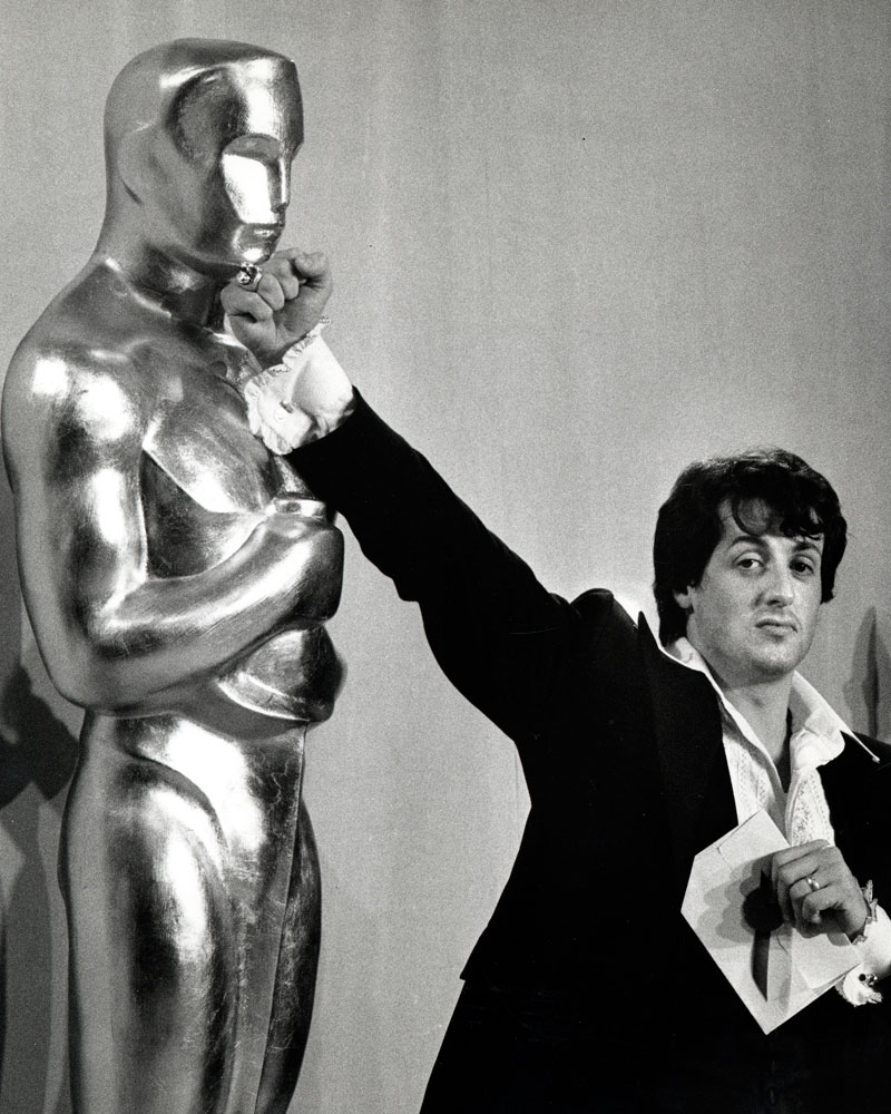 El actor en los Oscar de 1977.