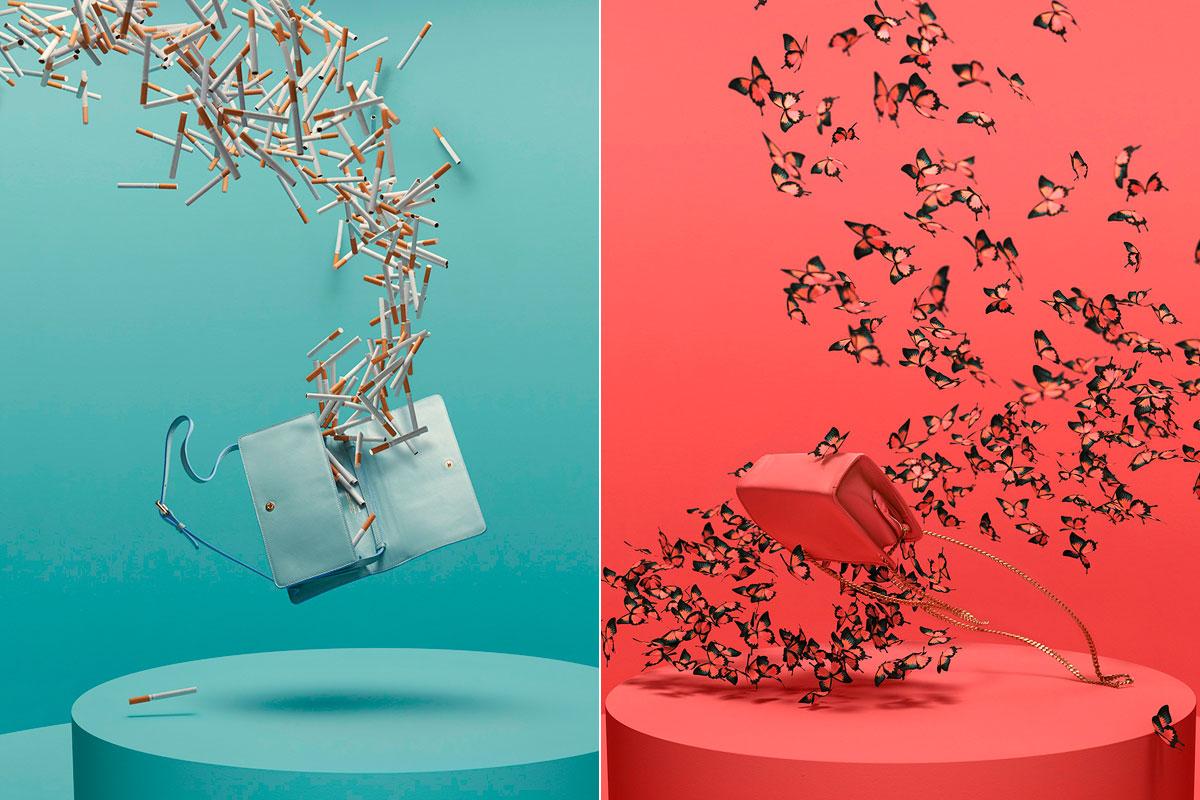 Los minimalistas bolsos de Castor Polux.
