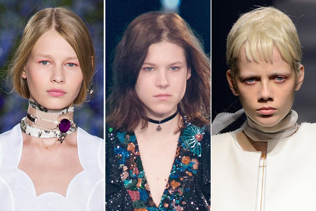 Dior, Saint Laurent y Lanvin primavera 2016.