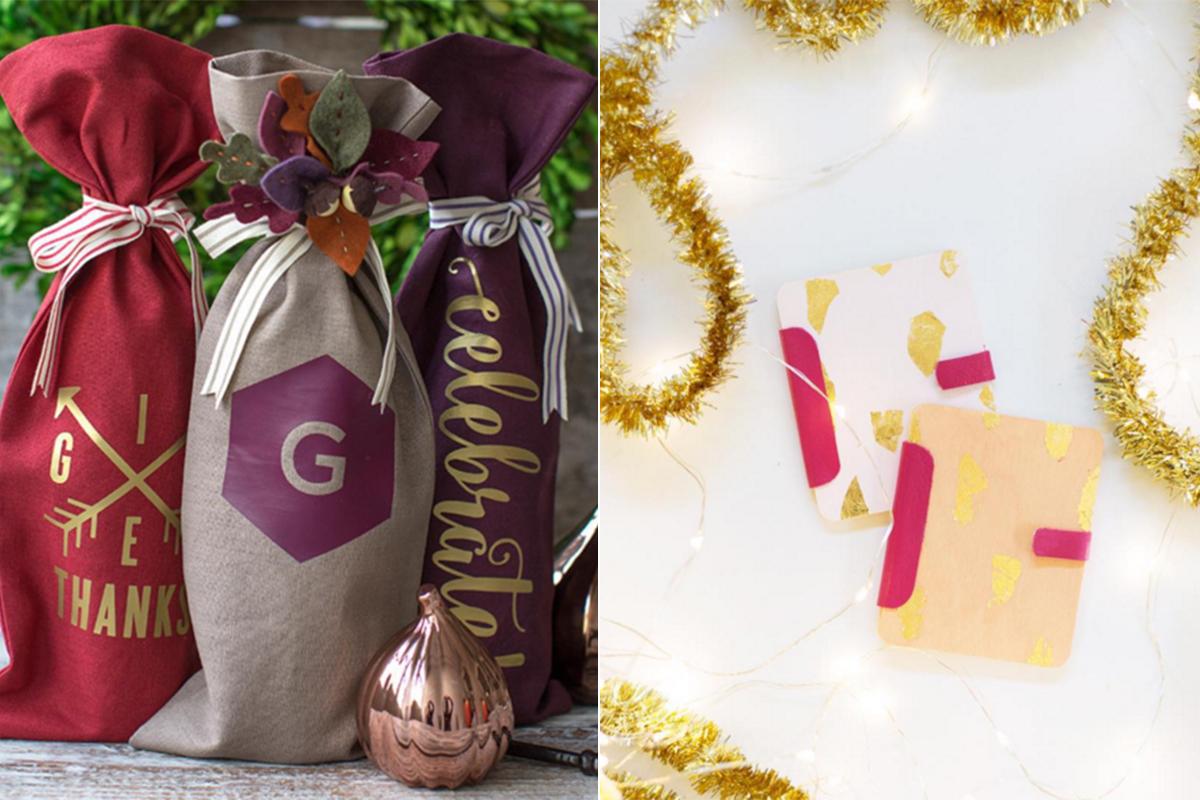 Ideas para envolver una botella o una tarjeta de regalo