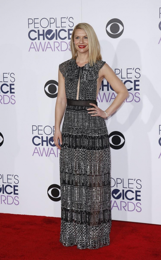 La alfombra roja de los People's Choice Awards