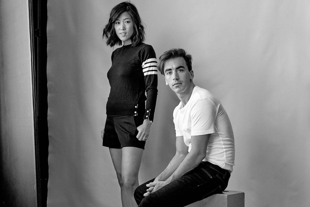 Fernando García y Laura Kim.