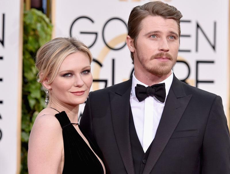 Kirsten Dunst y Garrett Hedlund.