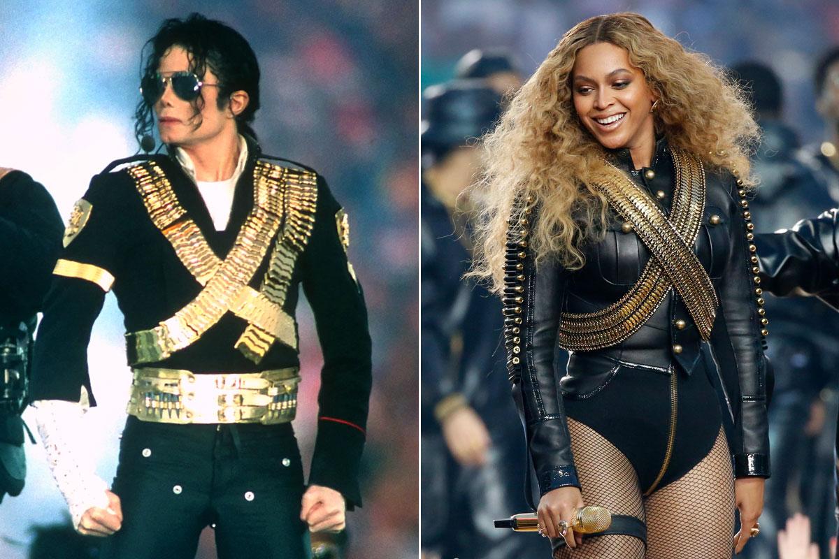 El estilismo de Beyoncé que rinde homenaje a Jackson.