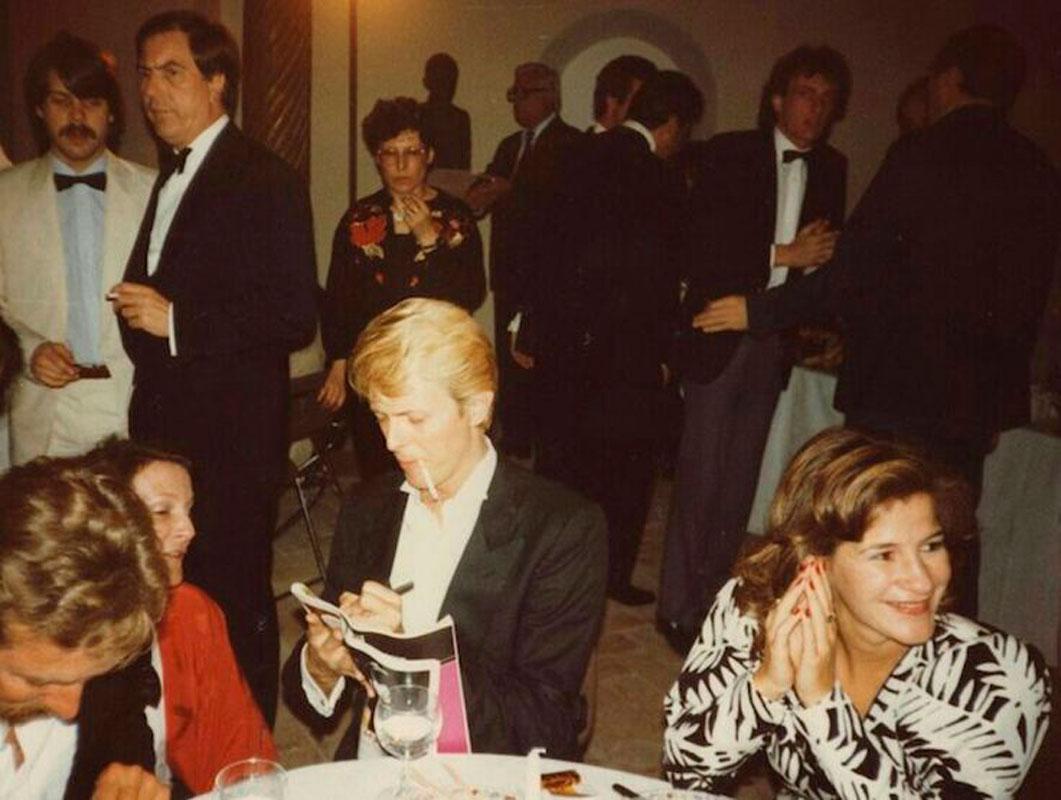 Bowie y Schwab en los 80.