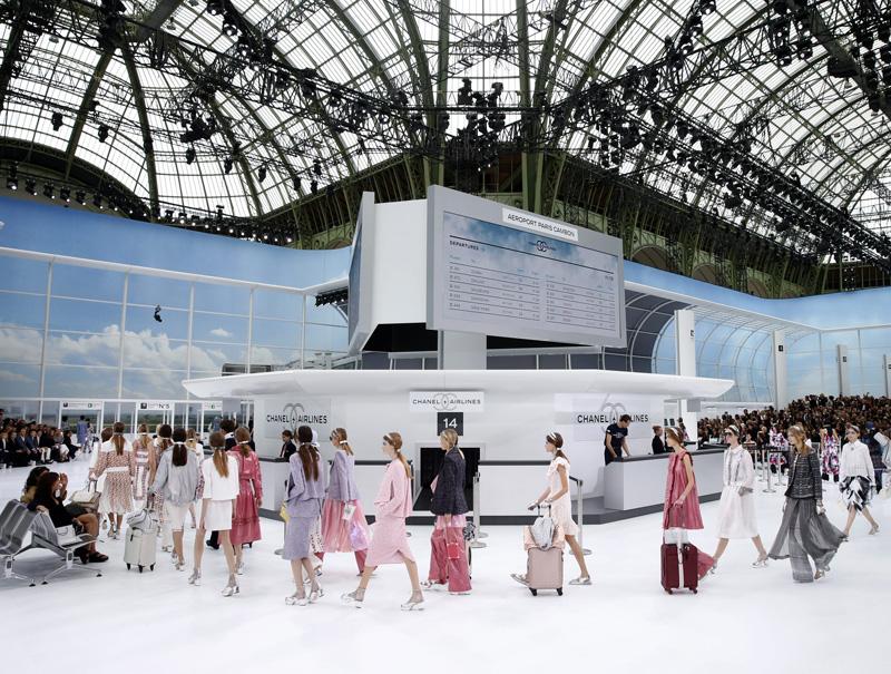 Desfile primavera-verano 2016 de Chanel.