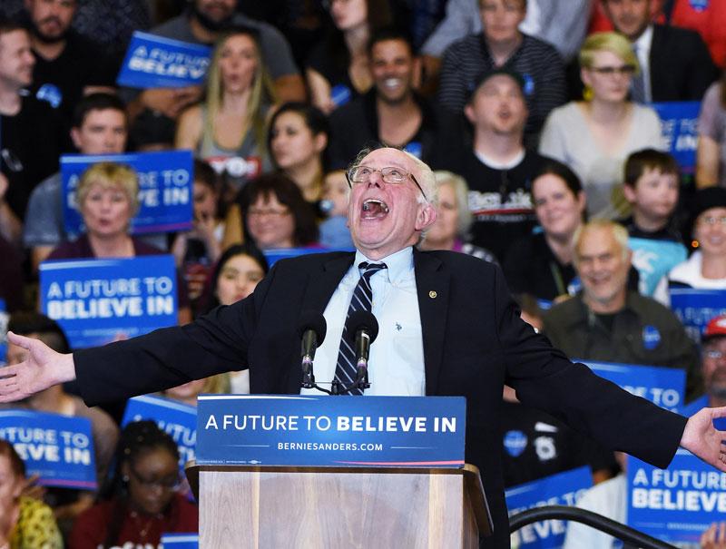 El candidato viral que podría ser presidente de EEUU a los 74 años
