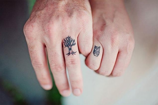 Tatuajes De Compromiso Para Parejas Nada Convencionales Moda S - Tatuaje-parejas
