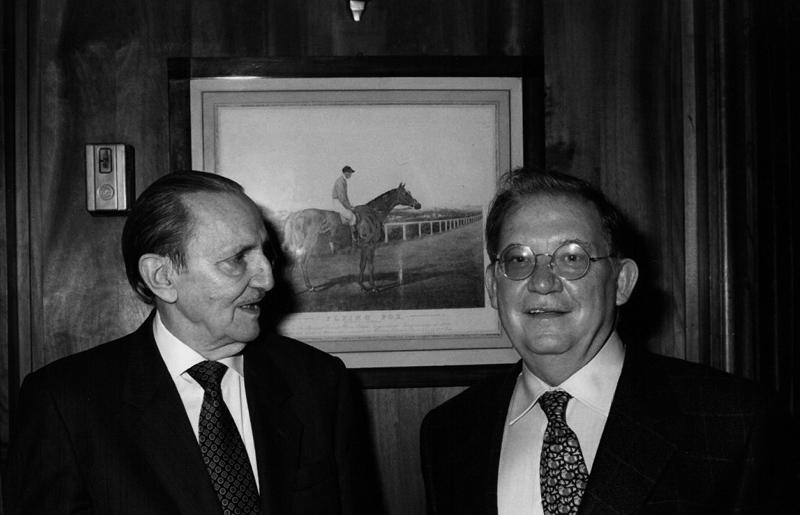 Antonio Buero Vallejo y Vicente Vela.