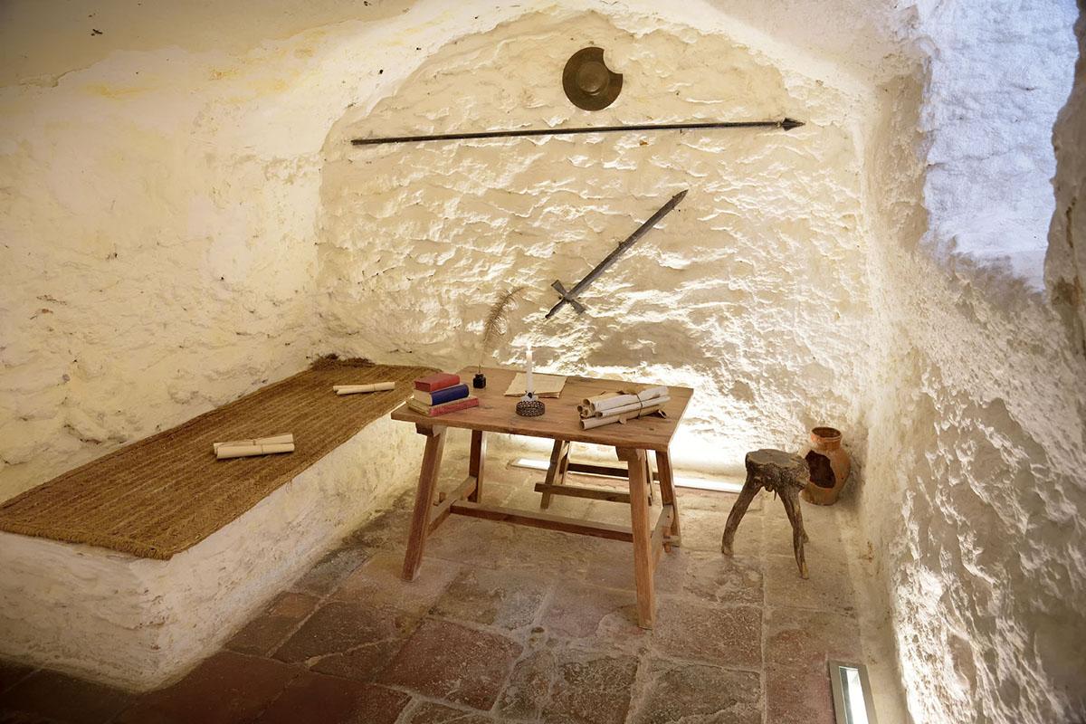 La Cueva de Medrano, donde estuvo preso Cervantes.