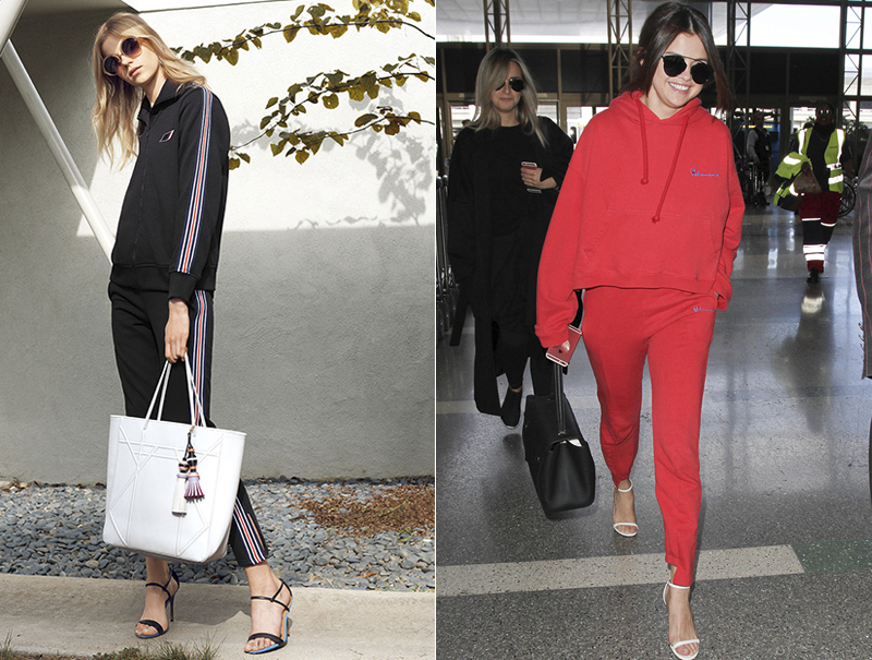 La peor pesadilla de la moda es real: se lleva el chándal con tacones