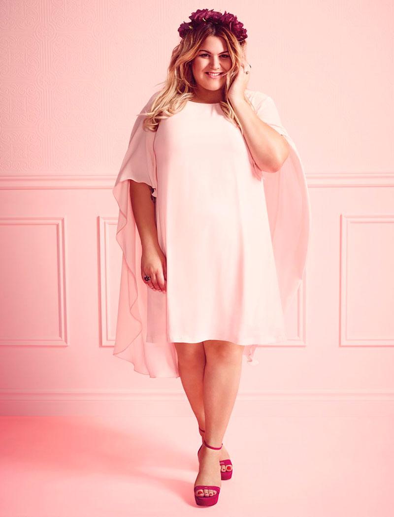Uno de los vestidos que más ha triunfado de su colaboración con 'Addition Elle'.