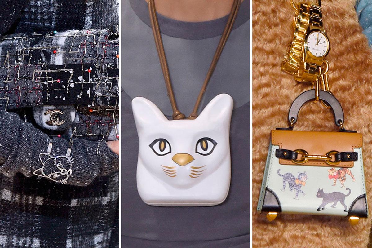 Complementos vistos en Chanel, Loewe y Undercover o/i 2016.