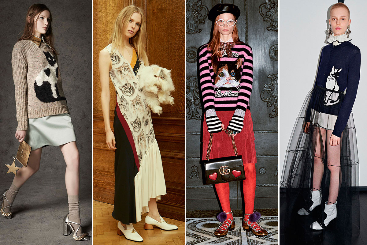 Colecciones pre-fall 2016 de Nº21, Stella McCartney, Gucci y MGSM.