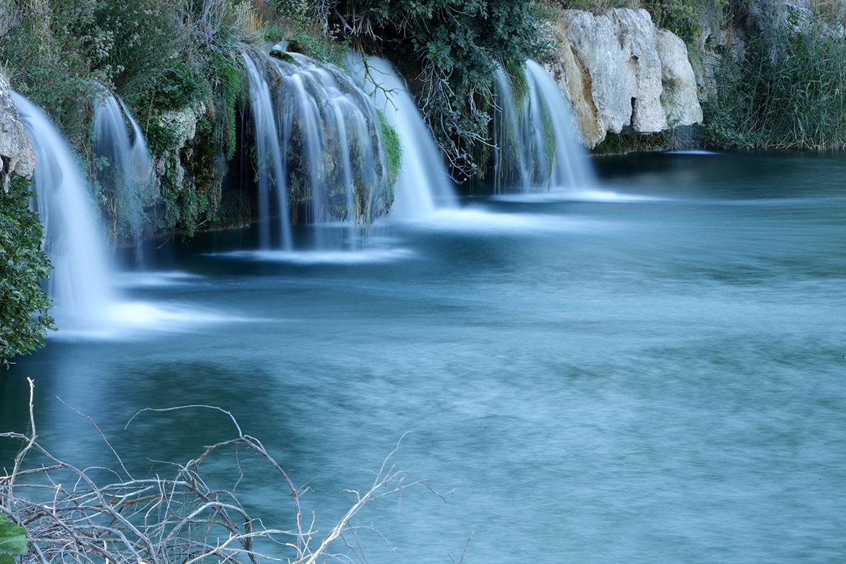 Cascadas en las lagunas de Ruidera