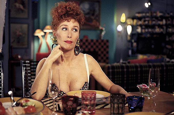 Verónica Forqué en su papel de Kika. Foto: D.R.