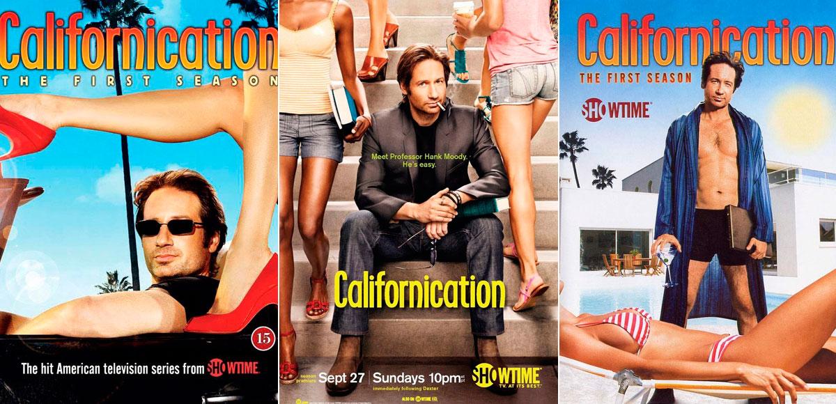 Por muchos carteles que se hagan de 'Californication' ni uno solo muestra a la mujer más allá de sus piernas y pecho.