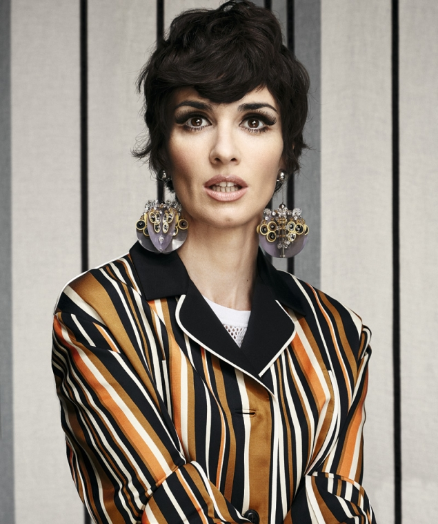 Paz Vega No Tengo Crisis De Los 40 Celebrities Vips S Moda
