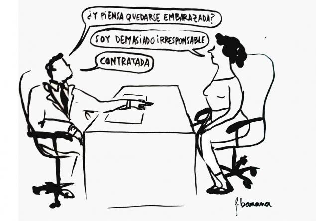 La viñeta de Flavita Banana: embarazos y contratos