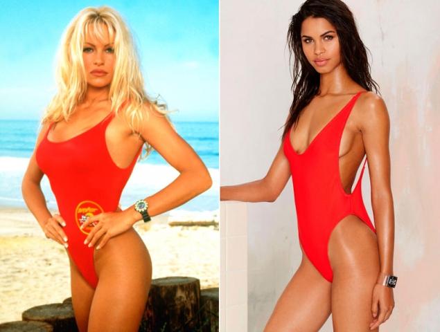 nuevo estilo bc167 c8539 El bañador de Pamela Anderson está más de moda que nunca ...