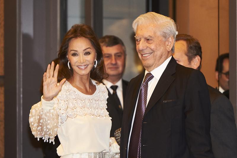 Mario Vargas Llosa Isabel Preysler pareja