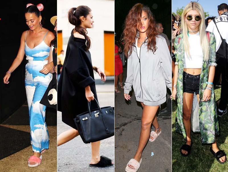 Katy Perry, Rihanna o Sophie Riccie, rendidas a la tendencia.