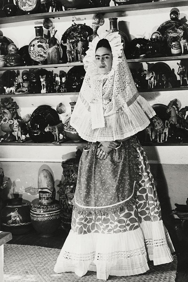 Frida Kahlo vestidos