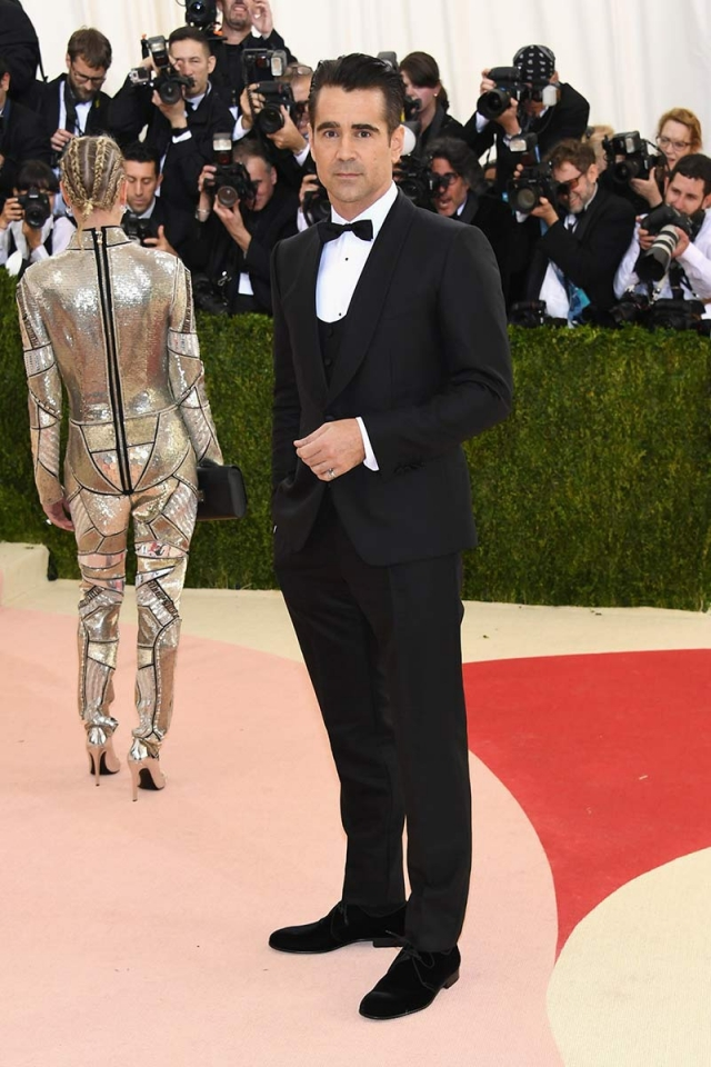 Colin Farrell gala met