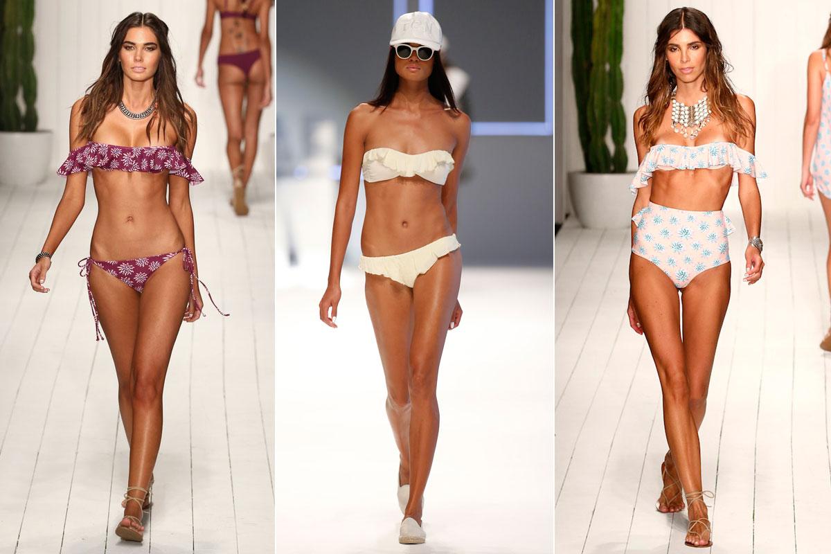 'Flamenikinis' bikinis para verano 2016