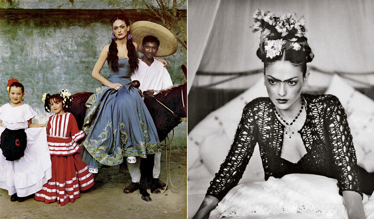 Frida Kahlo túnel moda laura ponte