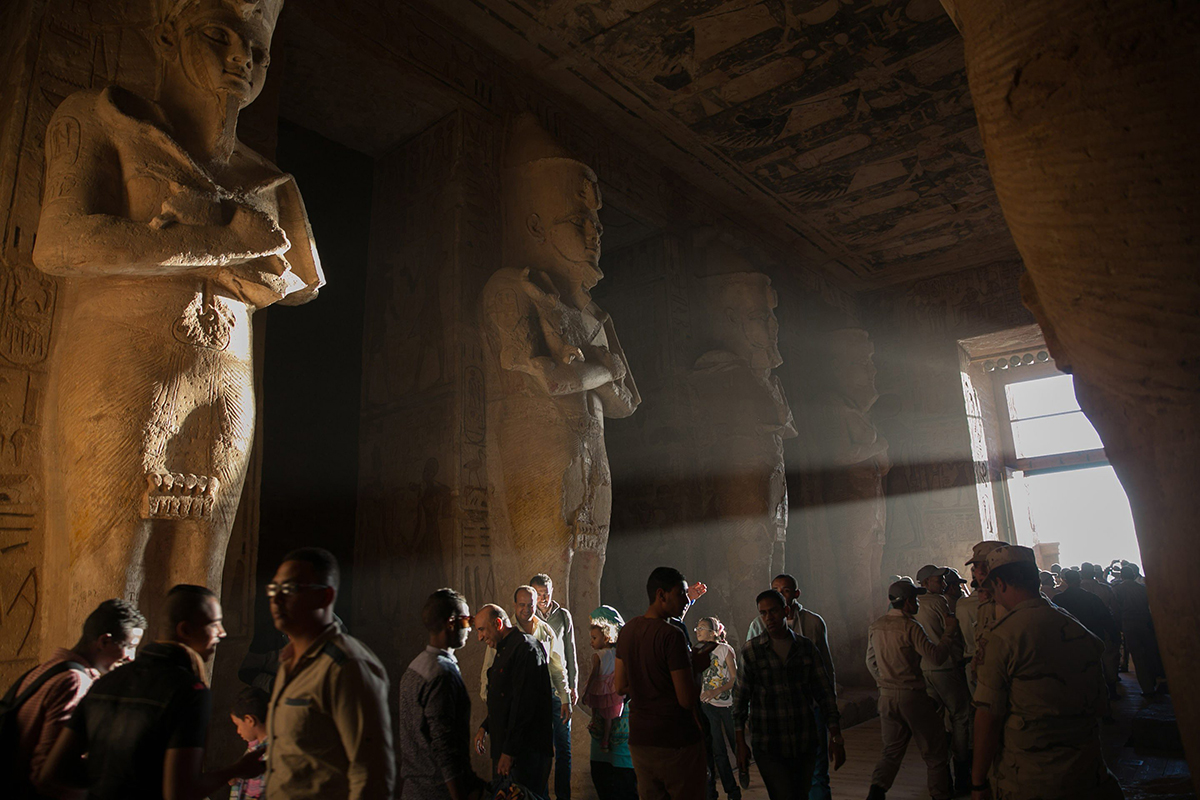 destinos destrozados turismo masivo abu simbel egipto