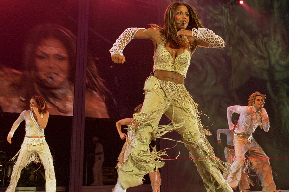 Janet Jackson mujeres mejor pagadas historia musica