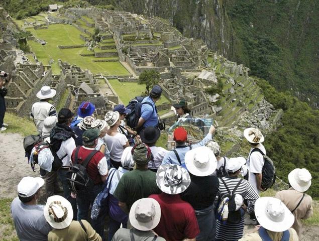 machu picchu turismo masivo