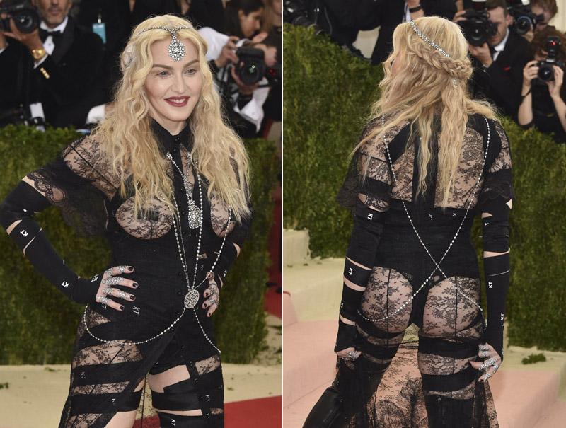 Madonna Gala Met 2016