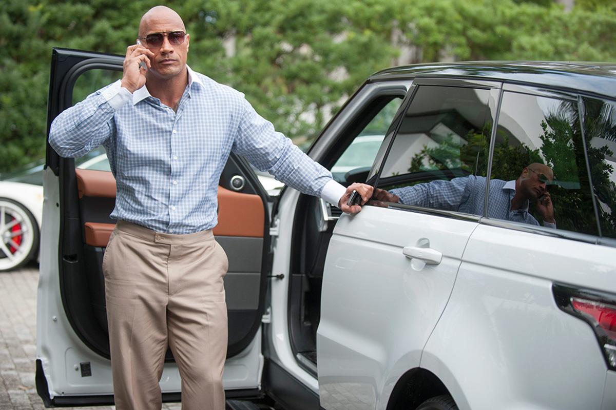 Dwayne Johnson en 'Ballers', la comedia más exitosa de HBO en los últimos años.