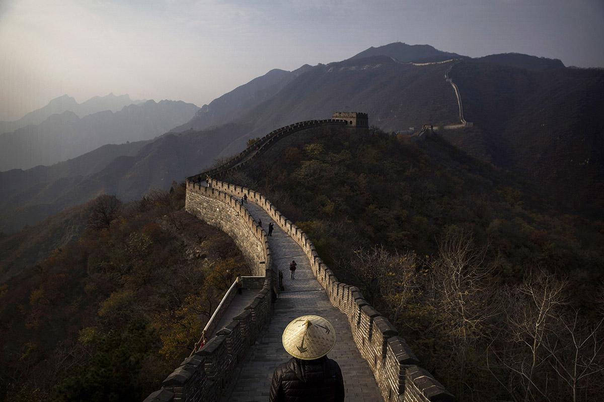 destinos destrozados turismo masivo muralla china
