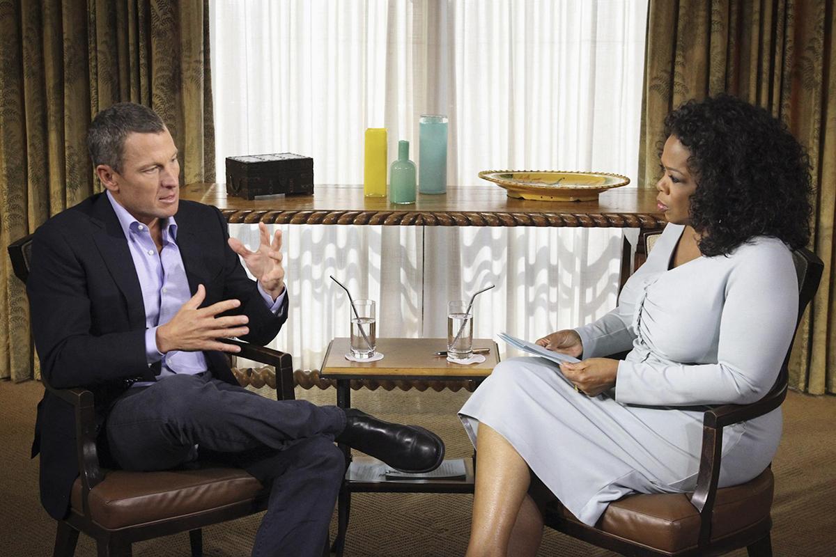 El ciclista Lance Armstrong pidió perdón por sus años de dopaje continuado en una entrevista con Oprah Winfrey.