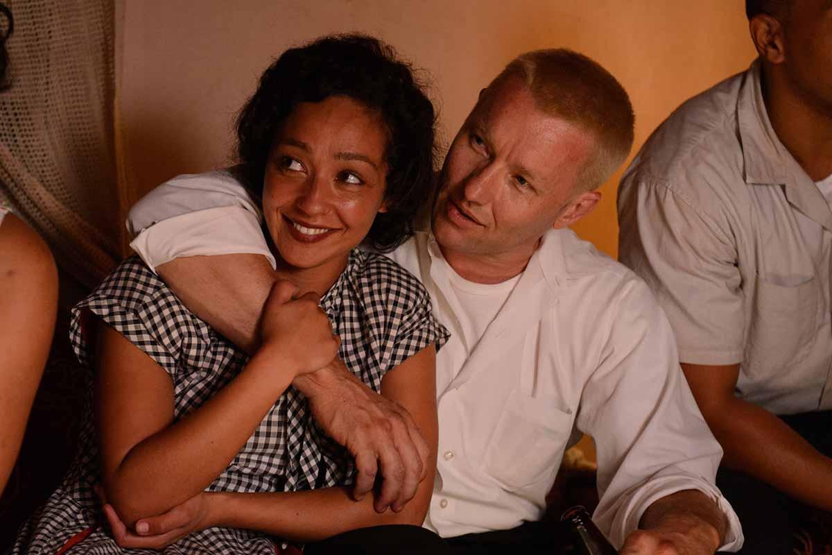 Negga y Edgerton caracterizados como los Loving, la gran sensación de Cannes.