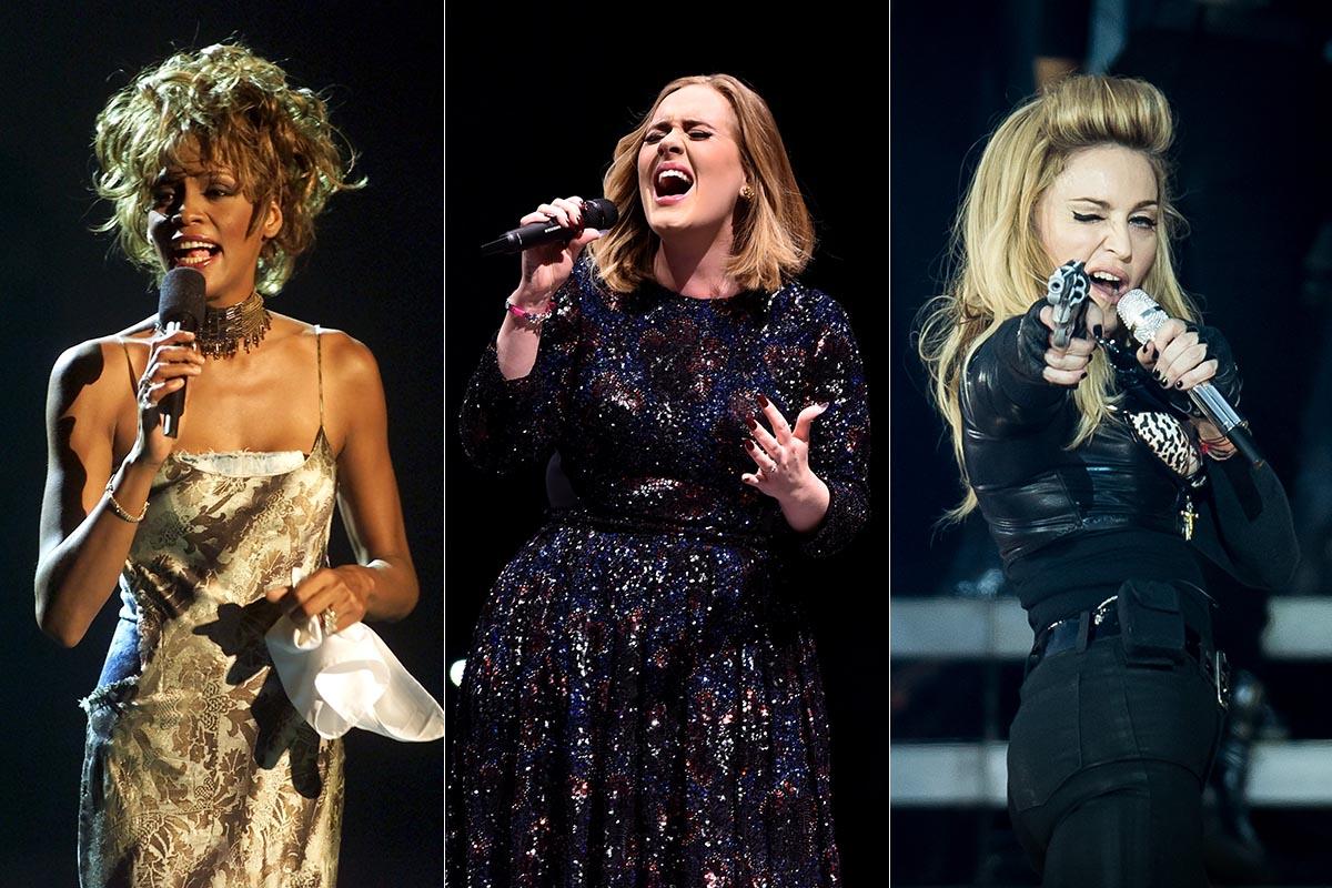 Adele artista mejor pagada historia musica