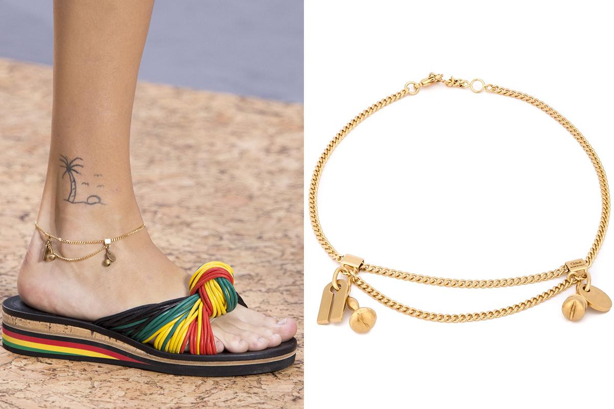 1ad9b6491c1a Las pulseras tobilleras, la tendencia del verano | S Moda EL PAÍS